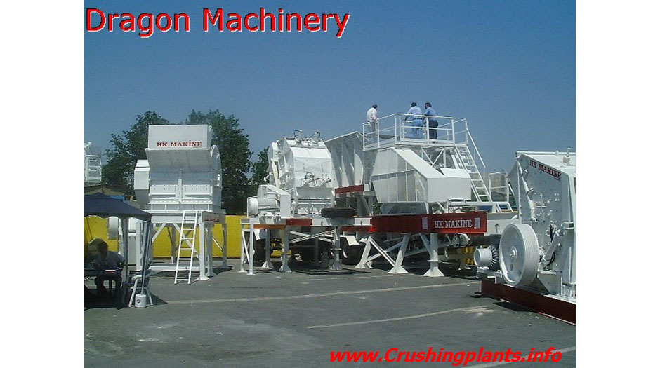 Primary Impactor Rock Crushing Plant